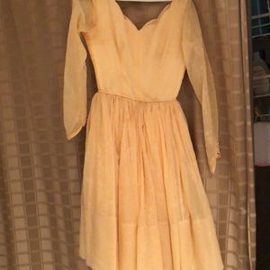 Dresses & Skirts - VINTAGE early 1960's cocktail dress for PROM!
